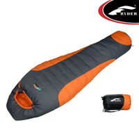Cold Weather -20 degree 1000 Fill Mummy Down winter Sleeping Bag