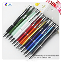 Kind of color promotional metal pen with cheap metal ball point pen