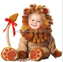 walson100% organic cottonbaby clothes made in china lion costume