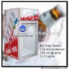 50L Commercial mini fridge/Noiseless absorption refrigerator