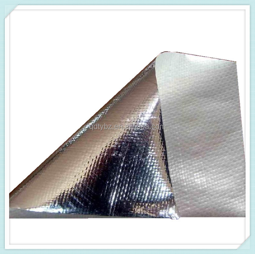 Aluminum foil laminated fiberglass roof heat insulation for Fiberglass thermal insulation