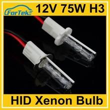 AC 12V 75W HID xenon bulb H3
