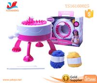 Girls weaver dreams Intelligence singer knitting machine DIY Knitting machine toys weaving machine toy