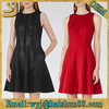 SS16 Wholesale latest new style lady cocktail party flare dress