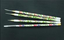 NEW! 4pcs Liner Brushes,Nail Art Brushes for Liner,Plastic Handle