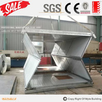 Smart folding container house,folding container shelter,folding container home
