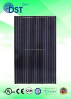 Solar Power Energy 240W 250W 255W 260W 60 cells TUV/MCS/UL/CEC/JET Taiwan 250 w 255 watts Black Poly Solar Panel Solar Module