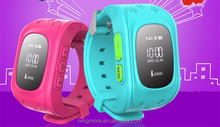 Good quality mini design gps watch tracker,low battery alert for kids
