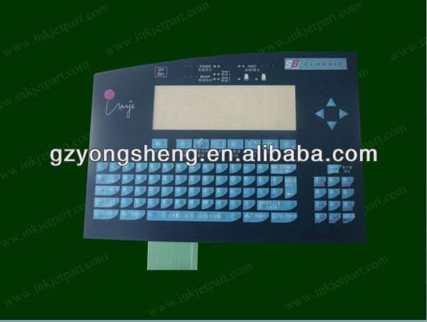 Imaje S8 Keyboard (classic) ENM 23970 for CIJ Inkjet Coding Printer small manufacturing machines