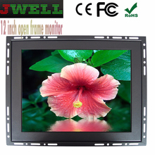 8 9 10 12 15 17 19 22 25 optional 12.1 inch 4:3 Ratio metal touch screen flip down car monitor