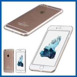 C&T Extremely thin crystal transparent clear hard case for iphone 6s plus