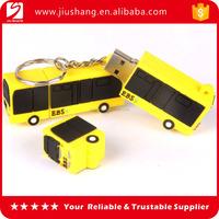 Newest truck shape pvc usb flash drive stick 2GB 8GB 16GB for promotion
