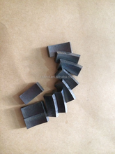 diamond flat segment for core drill bits for reinforced concrete