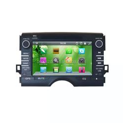 "9"" Radio Tuner Player Music FM Transmitter Car CD Player GPS for Toyota"