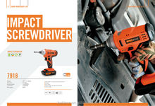 Usefull screws impact driver power tools Li-ion cordless impact screwdriver drill used for screws nuts bolts mounting
