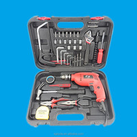 KAQI power tools electric drill with 38 sets auto repair tool box set