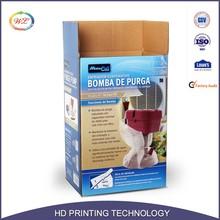 CMYK Color Printed Wax Custom Corrugated Packaging Carton Box Price