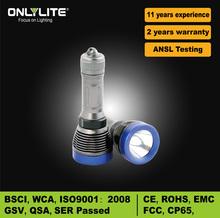 aluminum diving CREE T6 led flashlight