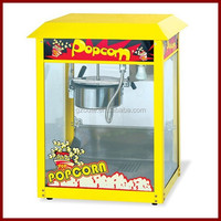 Hot Air Commercial Caramel Popcorn Making Machine (8 OZ)(Yellow Top)(OT-803)