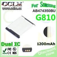 original quality AB474350BU 474350BE mobile phone battery Factory OEM for Sam sung cellphone i550 I558 W699 I8510 G810 AAA