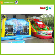 cheap giant fire truck inflatable one direction bounce house