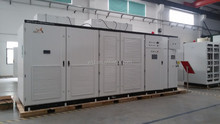 Medium voltage ac variable frequency drive for cinder flushing pump