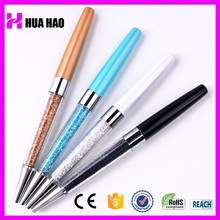 promotional items from china personal logo crystal pen,christmas gifts crystal ball pen,crystal stylus pen for promotion