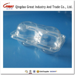 Recyclable Corrugated Plastic Container Apple Orange Peach Packaging