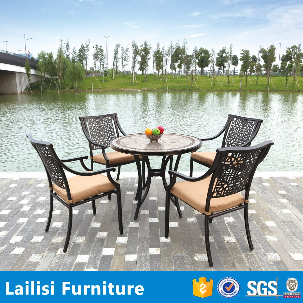 Wholesale outdoor cast aluminum garden furniture for Wholesale garden furniture