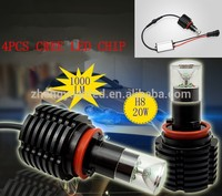 20w H8 H9 H11 H16 Optional Auto led fog lamp/car fog lights with one year warranty