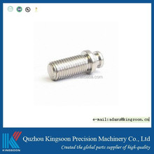 steel precision turning part with nickel plated finish