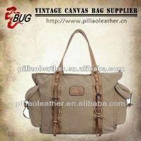 Big capacity Canvas handbag/Canvas tote bag Yellow/Black/Grey/Army Blue