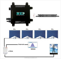 China High Quality Support WIFI 300W Solar Panel Grid Tie Solar Micro Inverter