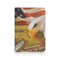 New Arrival Status Of Liberty With Big Bird Printed Leather Cover Case For iPad Mini,For iPad Mini Cover Case