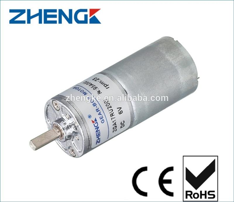 Mini dc geared motor 12v small dc gear motor with best Small gear motors dc