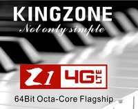 Original Kingzone Z1 4G LTE Mobile Phone MT6752A 1.7GHZ Octa-Core 5.5 inch IPS 1280*720 screen 16GB ROM+2GB RAM Android 4.4