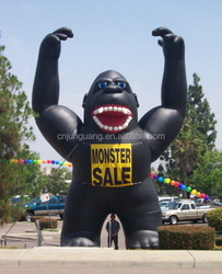 2015 hot sale inflatable king kong for advertising