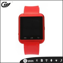 bluetooth3.0 metal silica gel smart watch phone