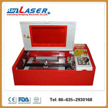 cortadora laser, China cheap 40W co2 portable desktop mini laser engraving machine