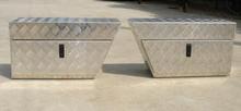 Aluminum alloy waterproof truck/trailer tool box