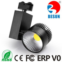 Made in china professional manufacturer high quality 20w led track light 2200-2600lm CE ROHS ERP FCC V0