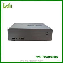 Iwill HT-70 pure aluminum mini itx HTPC case with USB2.0 or USB3.0
