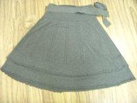 fashion women's short knitted skirt