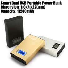 2014 High Capacity 11200mAh Power Bank for Travel/ Business Trip/ Outdoor Activities
