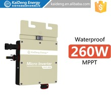KD-WVC260A high quality on grid inverter (HAVE monitor type)