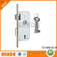 Piezas para cerradura embutida de estilo moderno, cerradura para puertas
