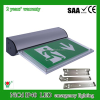 IP40 fire emergency suspended ceiling light sign