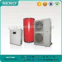 Durable 12KW Air Source DC INVERTER Heat Pump Heater System (split type)
