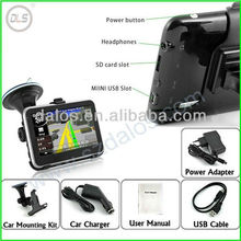 "2013 Cheapest 4.3"" portable car GPS, High quality 4.3 inch Car GPS Nagigator, OEM/ODM Manufacturer Portable Car GPS Navigation"