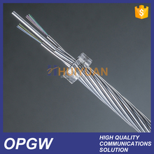 24 Core Excellent Mechanical Performance HUIYUAN OPGW Optical Fiber Cable Price
